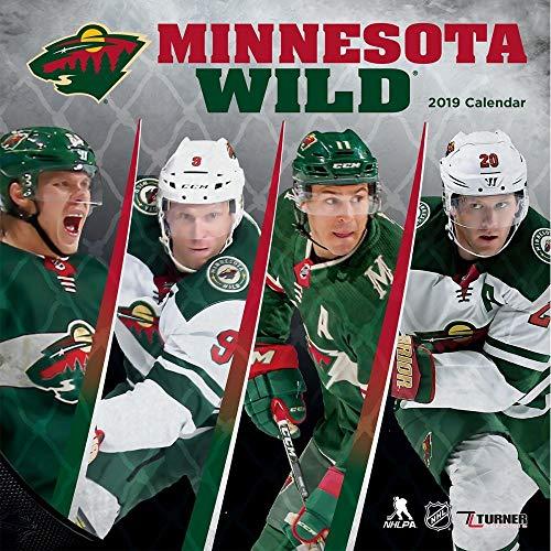 Turner Sport Minnesota Wild 2019 12X12 Team Wall Calendar Office Wall Calendar (19998011944)