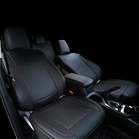 Peachy Behave Car Seat Covers Custom Fit Seat Covers Fit For Toyota Rav4 2013 2014 2015 2016 2017 2018 Leather Auto Seat Covers For Suv Full Set 4Pcs Saddle Forskolin Free Trial Chair Design Images Forskolin Free Trialorg