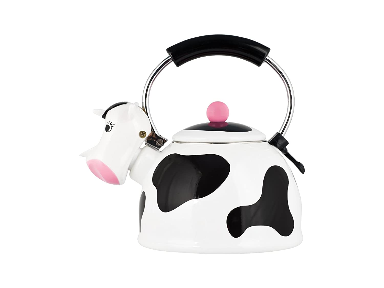 H&H Cow Pava, Revestimiento con Esmalte, Acero Inoxidable ...