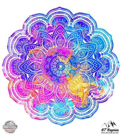 Mandala Flower Neon - 5