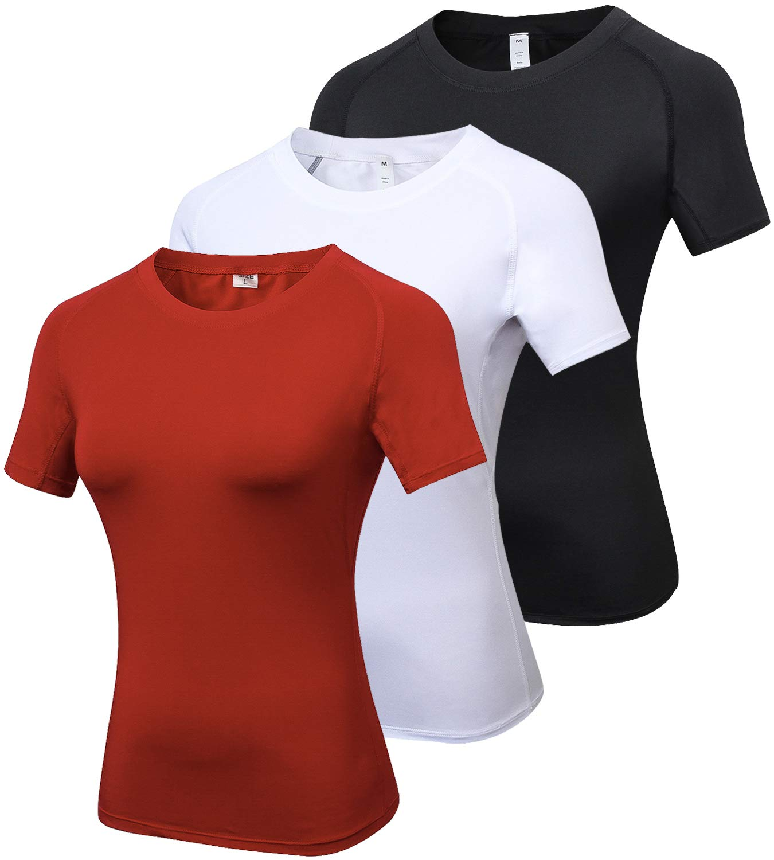 夏セール開催中 MAX80%OFF! laventoレディースCool Dry圧縮ベースレイヤークルーネック半袖Running Black/White/Red Shirts w2501 B077YK9RXS 3 Pack-2013 Pack-2013 X-Large|3 Black/White/Red X-Large X-Large|3 Pack-2013 Black/White/Red, 呉服とお宮参り着物 花ごろも:f4cdbd5b --- ballyshannonshow.com