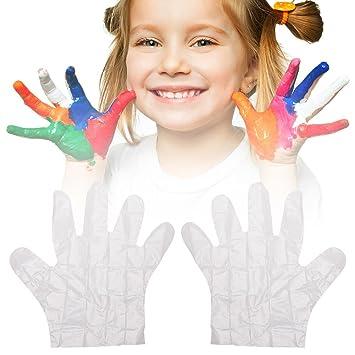 300 Pcspaket Kinder Essen Einweghandschuhe Einmalhandschuhe