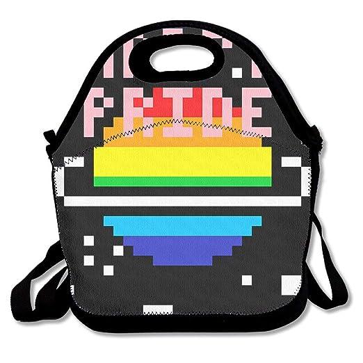 Flamagy Almuerzo Tote Happy Pride Loncheras Bolsas para ...