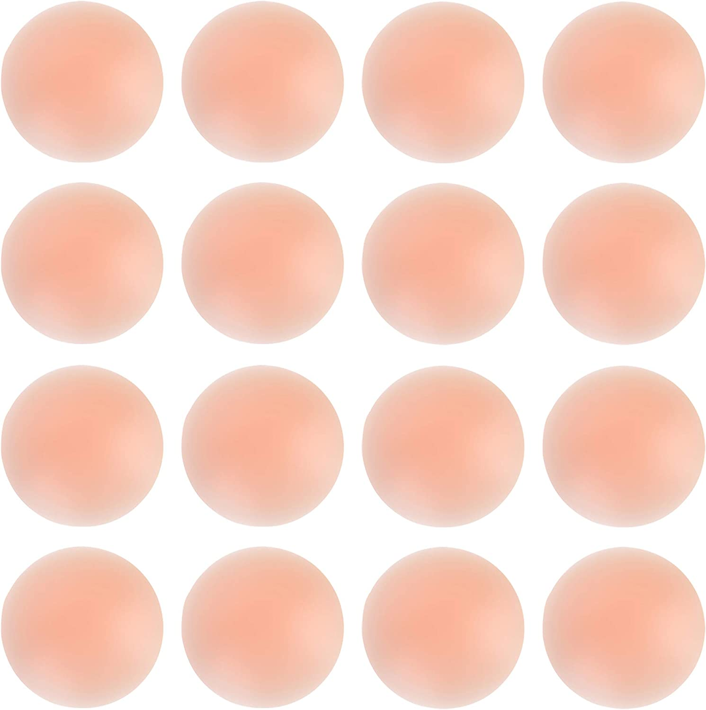Reusable Silicone Petal Adhesive Nipple Cover Nude Pasties Bra Pad 2-4 pieces