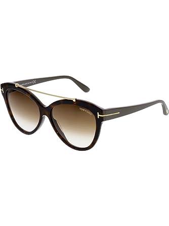 b7e7573de45 Tom Ford Womens Women s Livia 58Mm Sunglasses at Amazon Men s ...
