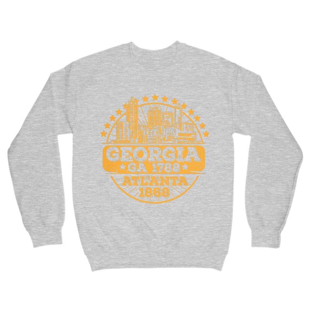 Georgia GA 1788 Atlanta 1868 Crewneck Sweater