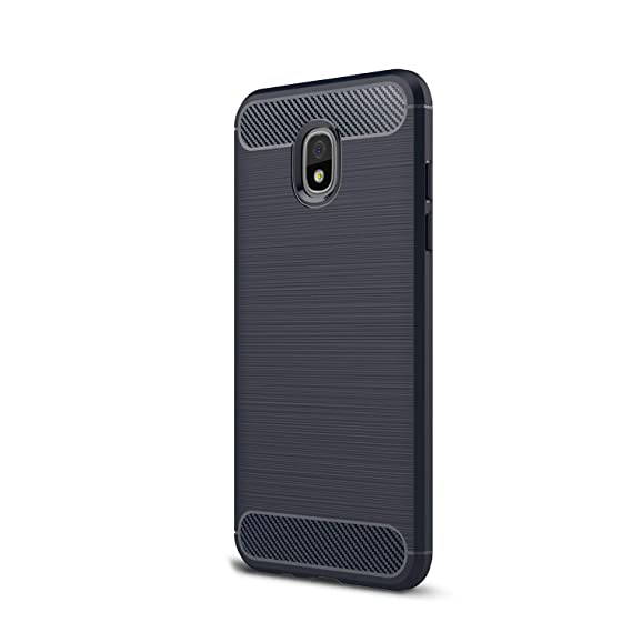 premium selection 04407 287c5 for Galaxy J730 J7Pro (2017) Case, Ultra-Thin Brushed Carbon Fiber Slim  Armor Soft TPU Phone Back Full Cover Case for Samsung Galaxy J730 (2017) /  J7 ...