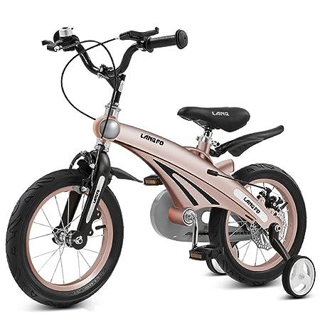 GAIQIN Durable Bicicleta para niños Bicicleta para niños 2.5-4-6-8 ...