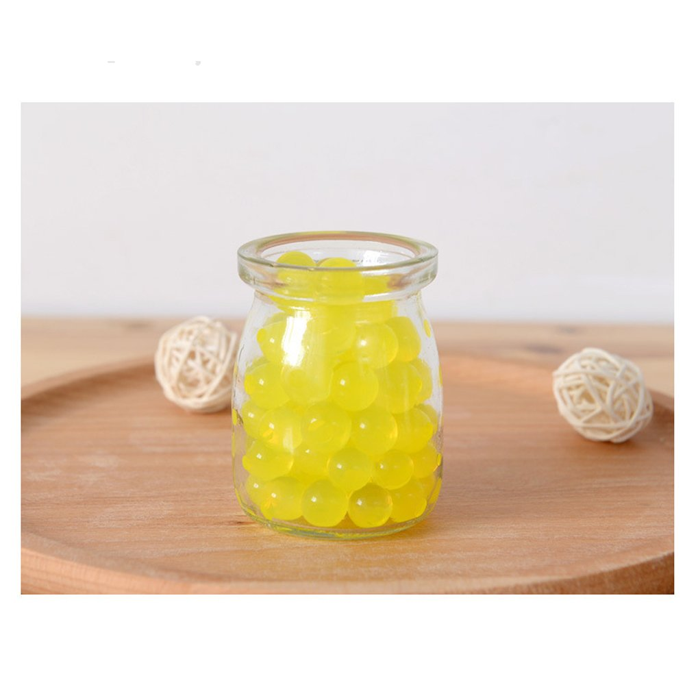 Water Beads Home Decoration Fish Tank. Plants About 1000 Pcs Water Gel Beads Pearls for Vase Filler Yellow Wedding Centerpiece
