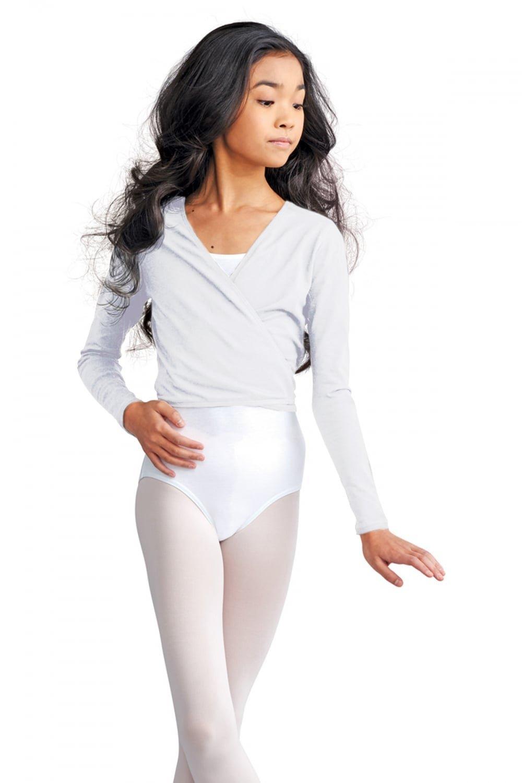 CAD850/C Capezio algod/ón Cardigan Wrap Over Ballet Dancewear para ni/ños
