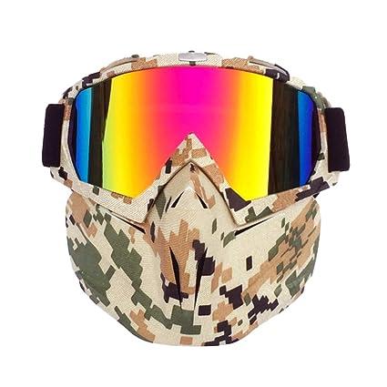 Amazon.com: BOHENG Gafas de esquí, gafas de motocicleta ...
