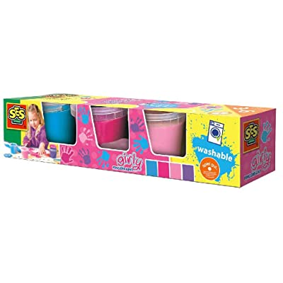 SES - Fingerpaint Girly Colours: Toys & Games