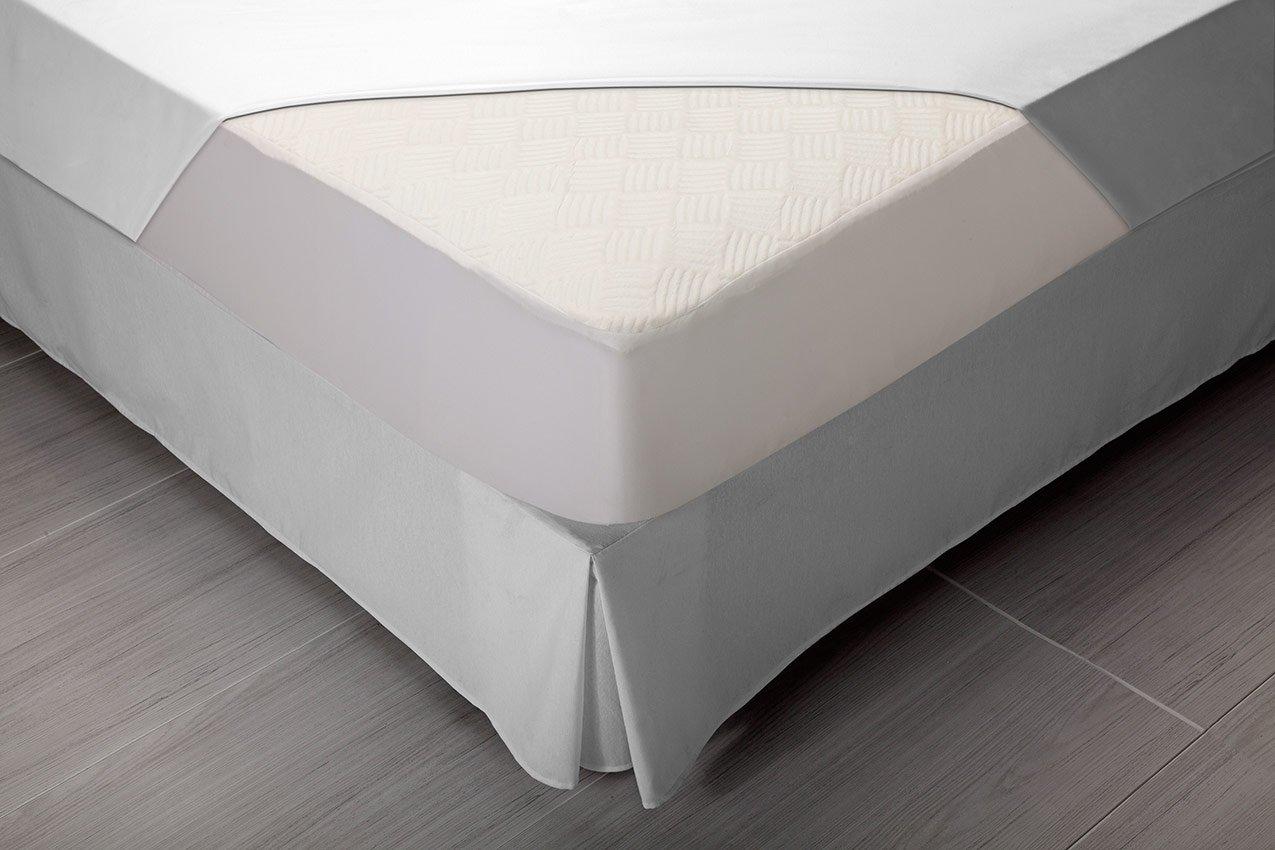 Pikolin Home - Protector de colchón dermoprotector, impermeable y transpirable, 80 x 190/200 cm, cama 80: Amazon.es: Hogar