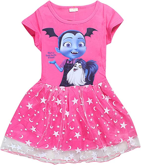 Vannie Vampirina Niña Vestido de Princesa Cosplay Skirt para ...