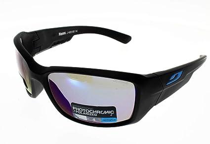 Julbo Whoops Gafas de Sol para Mujer, Negro Mate/enjos Azul Cian