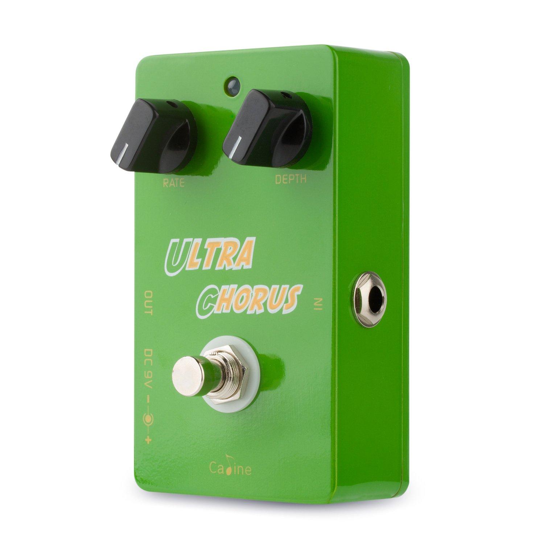Caline DC 9VUltra ChorusGuitar Effect Pedals True BypassAluminum Alloy Housing CP28