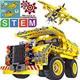 Gili Building Toys Gifts for Boys & Girls Age 6yr-12yr, Construction Engineering Kits for 7, 8, 9, 10 Year Old, Educational STEM Learning Sets for Kids Christmas