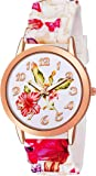 Mr. Brand Flower Design on dial and Strap Unique Watch for Women Analog Watch - for Girls