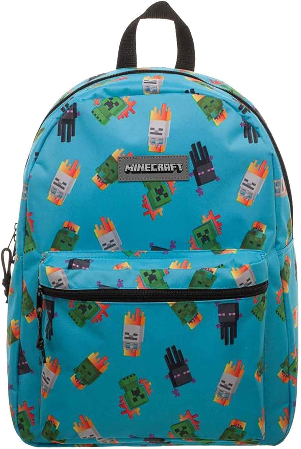Bioworld Minecraft Backpack Enemy Print Borse