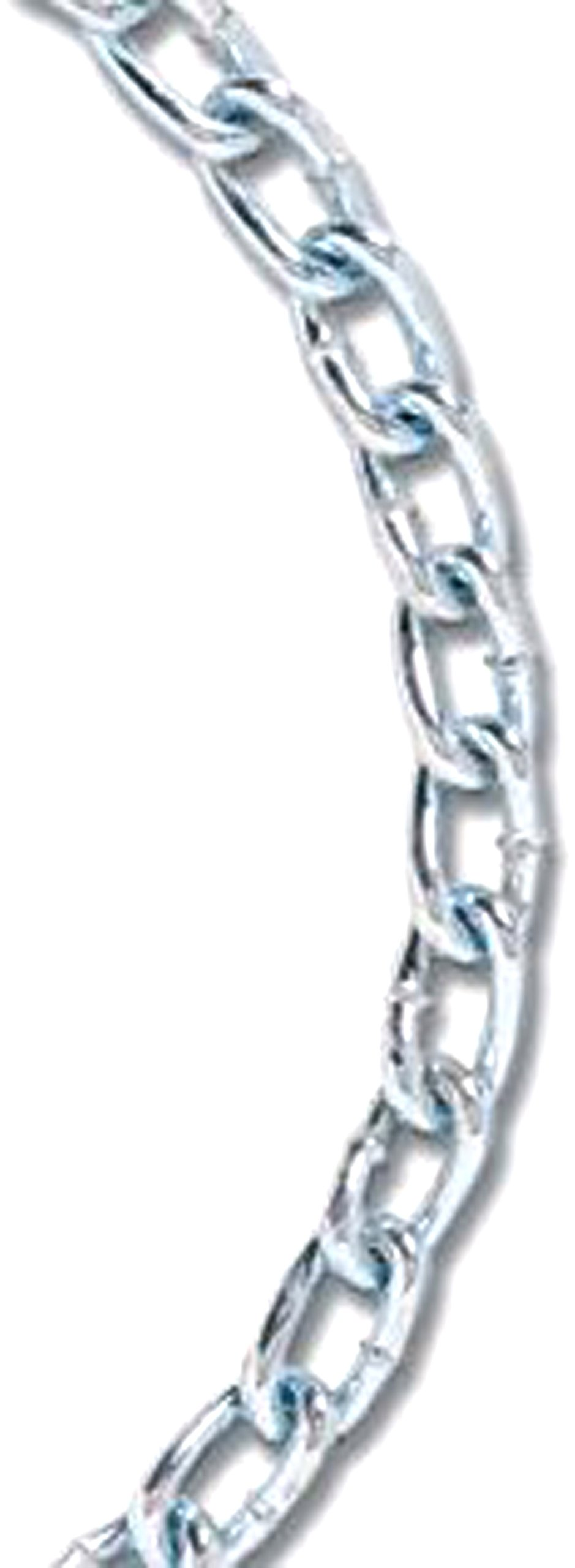 Koch 717876 No.4 by 200-Feet Machine Twist Chain, Zinc Plated by Koch