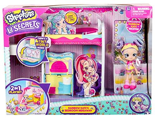 Shopkins Lil' Secrets - Rainbow Kate's Bedroom -
