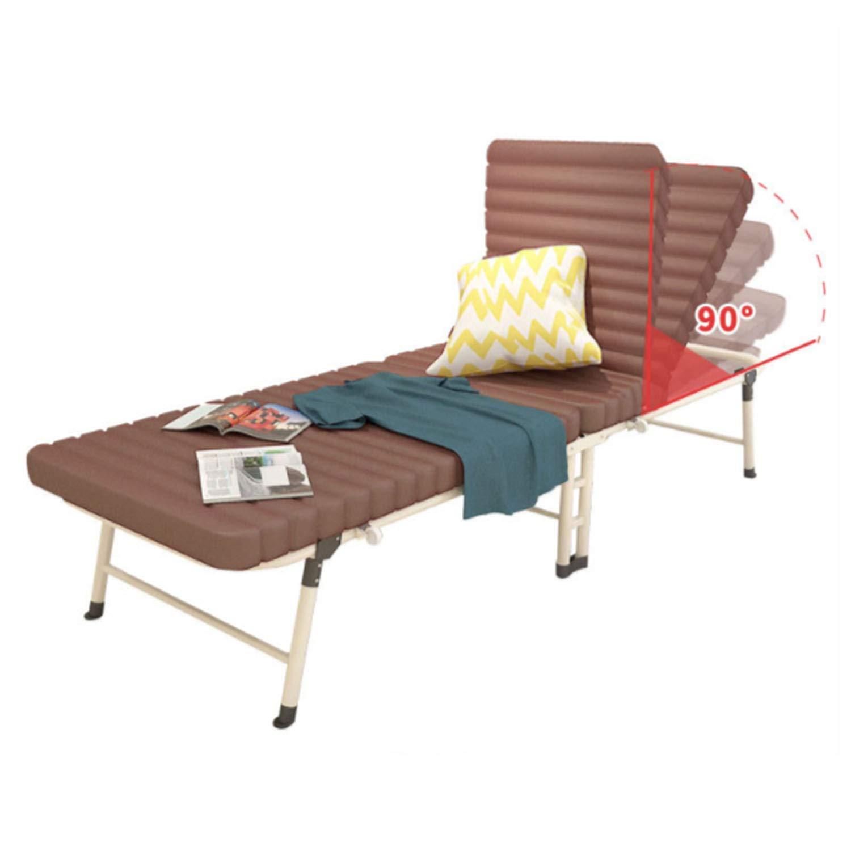 Faltblätter Einfache Bürostuhl Schlafzimmer Nap Bett Begleiten