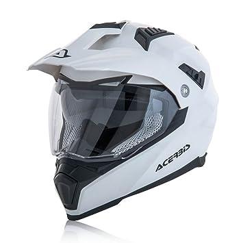 Casco Acerbis Flip fs-606 blanco brillante TG. XS