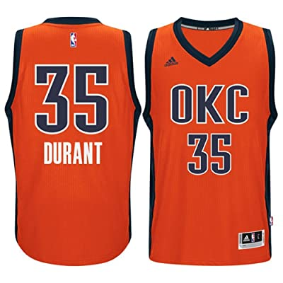 official photos 637f3 c967e Kevin Durant Oklahoma City Thunder Orange Youth Adidas ...