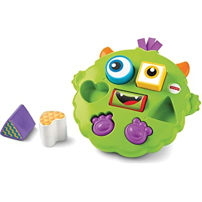 Fisher-Price Silly Sortin' Monster Puzzle: Toys & Games