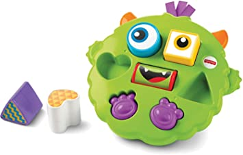 2188a05dc Image Unavailable. Image not available for. Colour: Fisher-Price Silly  Sortin' Monster Puzzle