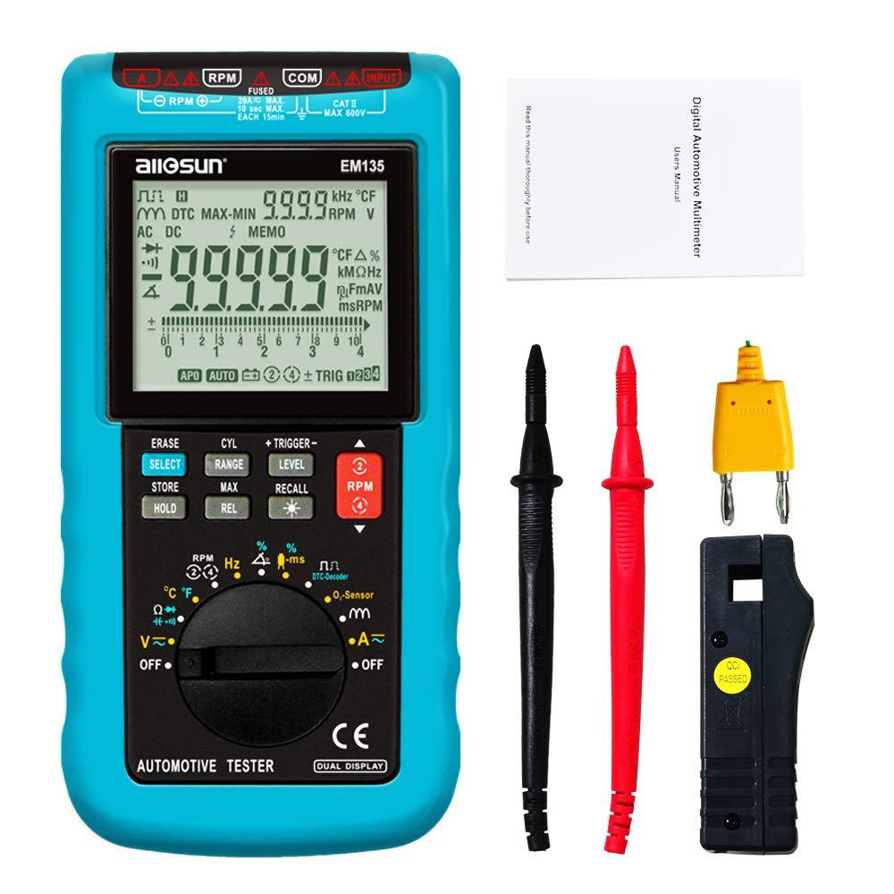 ALLOSUN EM135 Automotive Digital Multimeter