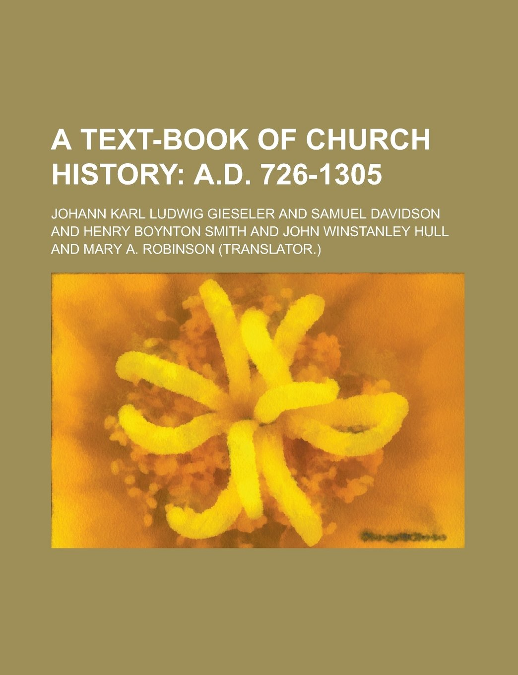 A Text-book of Church History ebook