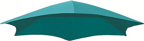 Vivere Dream Series Replacement Umbrella Fabric, True Turquoise