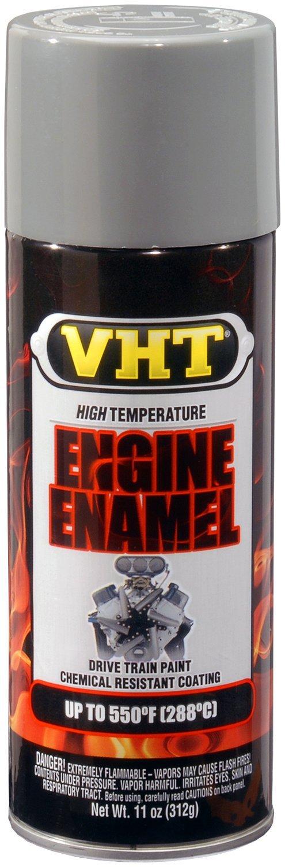 VHT SP137-6 PK (ESP137007-6 PK) Ford Gray High Temperature Engine Enamel - 11 oz. Aerosol, (Case of 6)