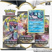 Triple Pack Pokémon Mantine Espada E Escudo 2 Rixa Rebelde