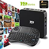 Monba W8 fully loaded TV Box Android 6.0 XBMC Amlogic S905X Quad Core 1G/8G support 4K Movie live tv and wifi with wireless keyboard