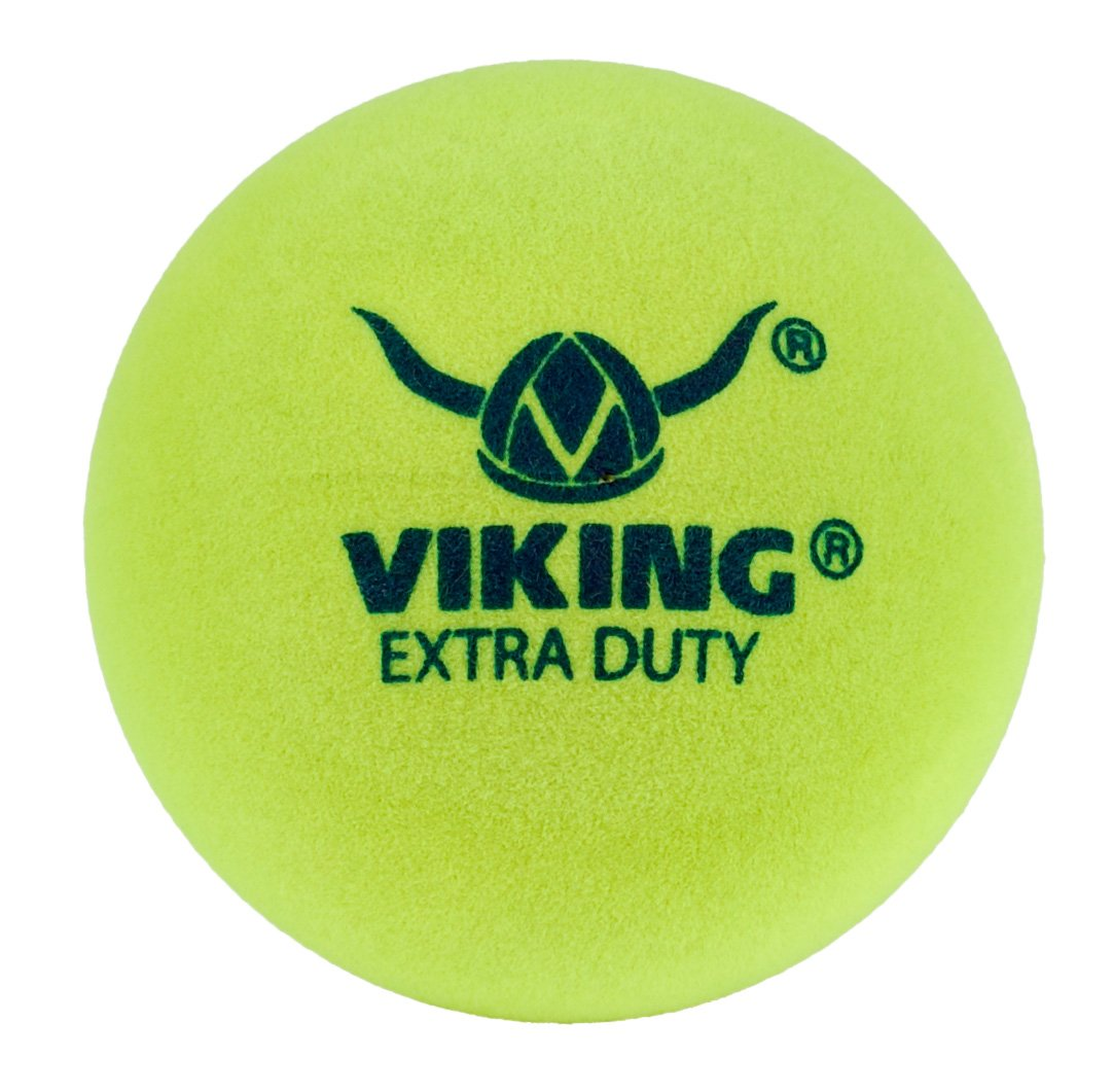 Amazon.com : Viking Extra Duty Yellow Paddle Ball (Sleeve Of 3) : Platform  Tennis : Sports U0026 Outdoors  Why Is There Fuzz On A Tennis Ball