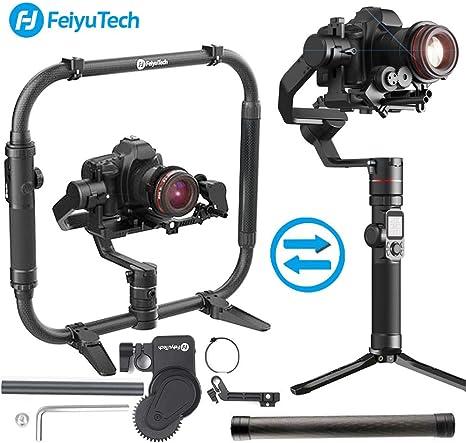 FeiyuTech Feiyu AK4000 Carga útil de estabilizador de cardán de 3 ...