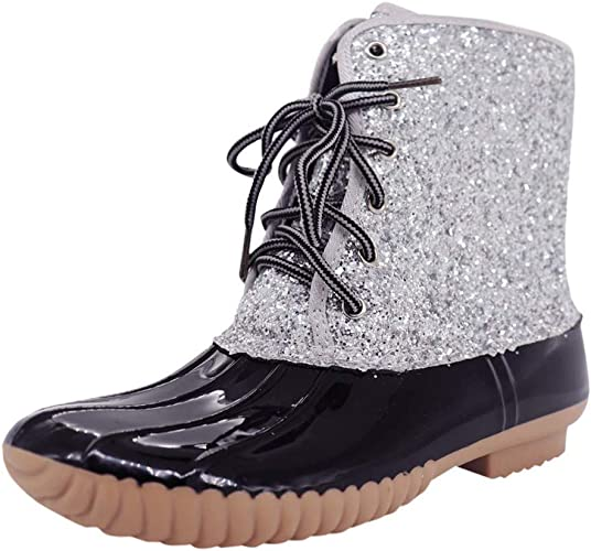 Girls Womens Warm Ankle Boots Combat Hiking High Top Shoes Black Size UK 3 EU 36