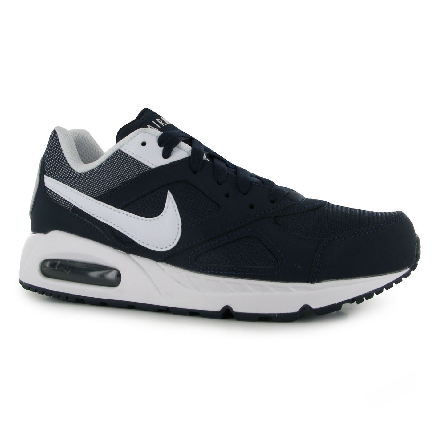 Mens Trainers NavyWhite Nike Air Max Ivo Trainers