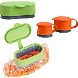 Sealing Bag Cap Food Fresh Keeping Clamp Storage Sealer Random Colour Set of 3 with Different Sizes