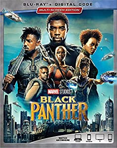 Cover Image for 'Black Panther [Blu-ray + Digital]'