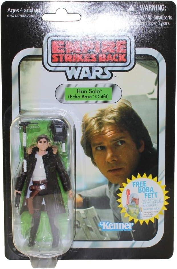 Ships Fast In Box! New Star Wars Vintage Han Solo Stormtrooper Figure