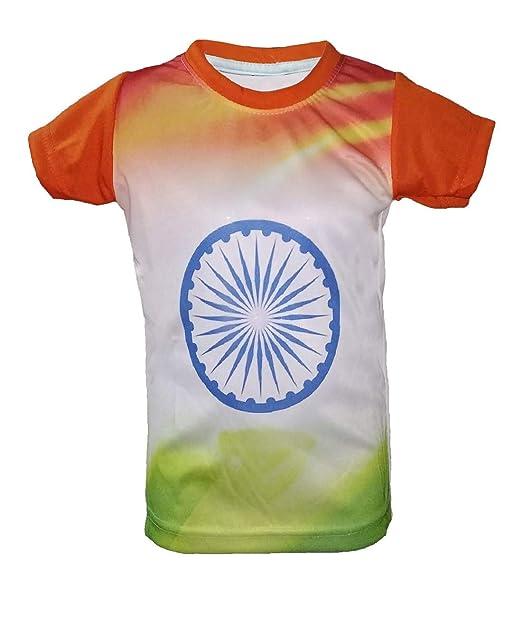 85abf99dc Uniq Kids Republic Day T-Shirt (4-5 Years): Amazon.in: Clothing ...