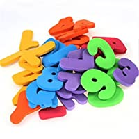 Heyuni. 36PCS Alphanumeric Letters Bath Puzzle Soft EVA Numbers Kids Baby Early Educational Toy Tool Bath Toy