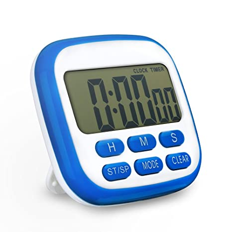 TOPELEK-Timer Cucina Digital Timer Elettrico Fitness Timer Con ...