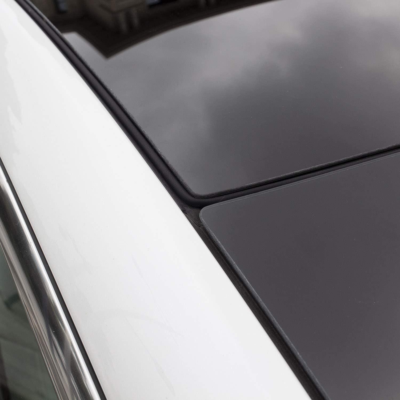 TAPTES Tesla Model 3 /& Model Y Wind Noise Reduction Kit Roof Seal Strip Anti Noise Seal Kit 4.0 Upgraded 2020