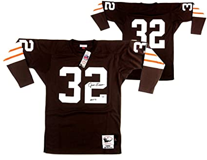 Discount Jim Brown Signed Cleveland Browns Mitchell & Ness Authentic Jersey