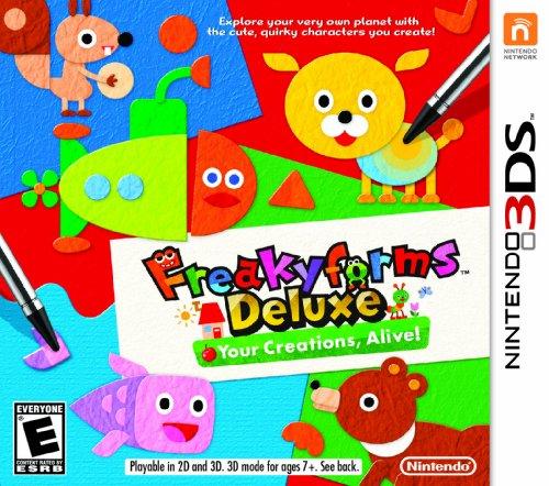 Freakyforms Deluxe:  Your Creations, Alive! - Nintendo 3DS by Nintendo