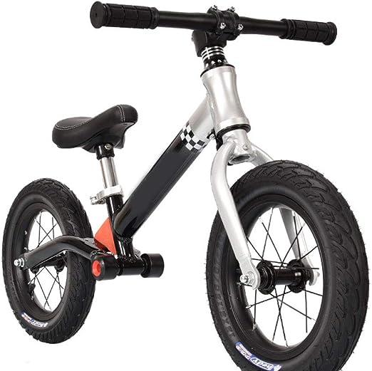 Z-SEAT Niños Bicicleta De Equilibrio, De Peso Ligero del Niño De La Bici del Empuje, La Bici del Bebé El Entrenamiento con Altura De Asiento Ajustable para Niños 2-6 Años: Amazon.es: Hogar